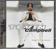 Tevin Campbell – Back To The World   cd
