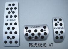 Aluminium Brake Foot Rest Pedals Interior For Land Rover Evoque AT