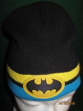 "Batman Beanie DC Comics ""One Size"" Kids Size (NWO) Fast Shipping!!!!"