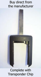 VAUXHALL ZAFIRA COMPATIBLE TRANSPONDER KEY complete with ID40 Transponder Chip