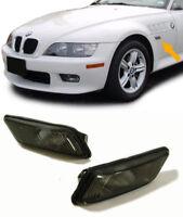 COPPIA indicatori FRECCE FANALI LATERALI NERI BMW Z3 1995>2002 tuning