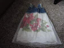 MY VINTAGE BABY 4T GORGEOUS FLORAL DRESS