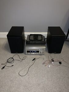 Denon RCD-M38DAB Microsystem HiFi (CD, Amplifier, DAB radio) with SC-37 Speakers