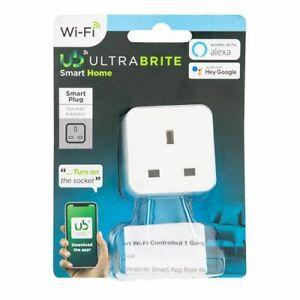 Smart Plug Wifi Ultrabrite works with alexa or Hey Google