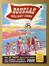 Douglas Holiday Camp - Tin Metal Wall Sign