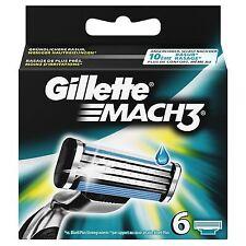 GILLETTE MACH3 6 klingen