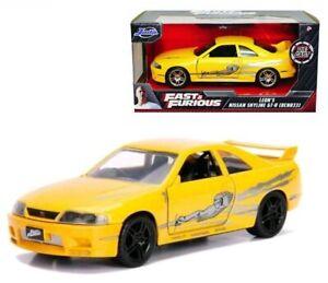 Fast and Furious Leon's 1995 Nissan Skyline GTR R33 1:32 Scale Diecast Car  [OE]