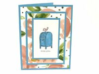 Stampin Up Cards Miss You Card Thinking Of You Birthday Card Mother's Day Cards