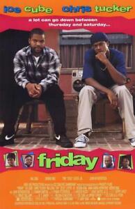 Friday Movie POSTER 11 x 17 Ice Cube, Chris Tucker, Bernie Mac, A