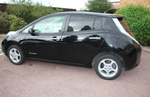 Nissan Leaf (24kWh) 2012 Auto 5dr Black Low Mileage Cat S Battery Owned