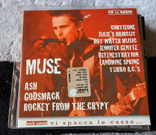 MUSE ASH GODSMACK ROCKET FROM THE CRYPT  promo cd from Rock Sound magazine