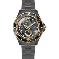 Invicta Women's 30375 Anatomic Quartz 3 Hand Black, Gold Dial Watch