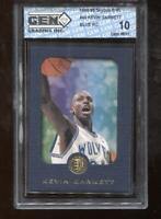 Kevin Garnett RC 1995-96 Skybox EXL Blue #49 Timberwolves HOF Rookie GEM MINT 10