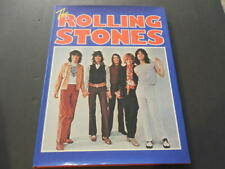 The Rolling Stones By Jeremy Pascall & Rob Burt 1st Edit 1977 Hc Id:14105