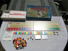 ADVANCE TO BOARDWALK Board Game Parker Brothers 1985 COMPLETE