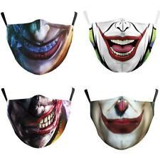 The Joker Face Mask Cosplay Adult Masks Prop Mask +2 filter