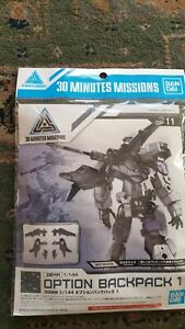 30 minutes missions 1/144 30MM option Pack