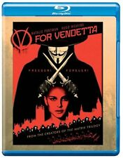 BLU-RAY V FOR VENDETTA BRAND NEW SEALED UK STOCK