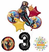 Mayflower Products Captain Marvel 3rd Birthday Party Supplies Balloon Bouquet