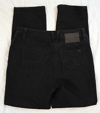 Cecil Denim Toronto Rhinestone Slim Fit Womens Black Jeans Size 30 (V26#1105)