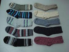 NWOT Women's Merino Wool Blend Socks Shoe Size 6-9 Multi 10 Pair #991A