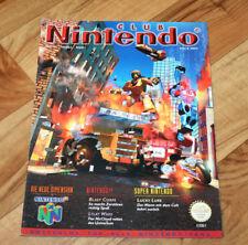 1997 Club Nintendo Magazine Star Fox 64 Blast Corps Mario Kart Wave Race Kirby