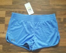 Womens Under armour blue shorts size medium blue