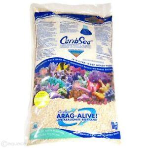 Caribsea Araga Live Special Grade Reef Sand 18kg 40LB Aquarium Fish Substrate
