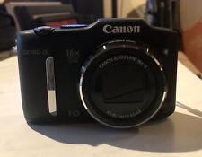 Canon PowerShot SX160 IS 16.0MP Digital Camera - Black