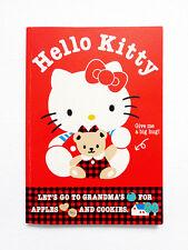 *Vintage 1976, 1991 Sanrio Hello Kitty Small Collectible Notebook Rare Kawaii*