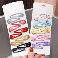 Korea Beautygirl Hair Clips for Hair Clip Pins BB Hairpins Color Metal Barrettes