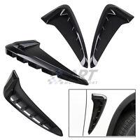 Entradas de aire adhesivas compatibles con Bmw F15 X5 pástico Abs negro brillo