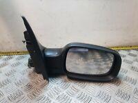 RENAULT MEGANE WING DOOR MIRROR OSF DRIVER SIDE NV676 BLACK 1.9 MK2 3 DOOR 2004