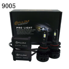 80W 19200lm 2 Sides CSP LED Headlight Kits 9005 High Low Beam 6000K Bulbs White