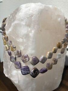 Genuine Jalisco Lavender Opal Necklace                      Jay King Mine Finds