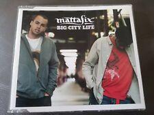 MATTAFIX Big City Life CD SINGLE 2 tracks 2005