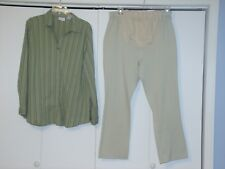 BABY CREW MATERNITY SIZE XL PANTS & TOP OUTFIT