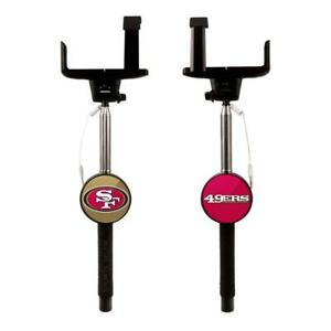 San Francisco 49ers Sports Selfie Stick [NEW] NFL Phone Pic Photo Picture Post