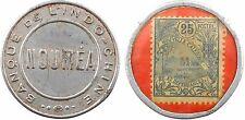 Banque Indochine, Nouméa, 25 centimes, Nouvelle Calédonie, SUP, RARE - 47