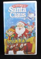 New Sealed The Story of Santa Claus Clause (VHS, 1998, Clamshell) CBS Video RARE