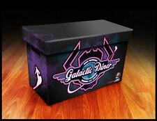 Comic Book Cardboard Storage Box Galactic Diner Artwork, holds 125-140