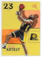 03 04 Fleer EX Century Ron Artest Essential Credentials Future SP #ed /99