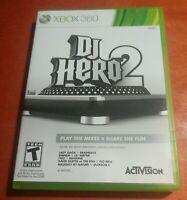 DJ Hero 2 Microsoft Xbox 360 Activision Havok Bink Video DemonWare Granny 3D
