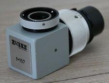 Zeiss OPMI Mikroskop Microscope Fototubus Phototubus f=107 mit Iris