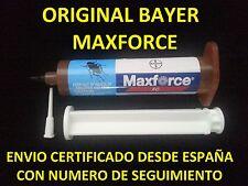 1 JERINGA MAXFORCE FC MATAR ELIMINAR CUCARACHAS ORIGINAL BAYER GEL 30g=(300m2)