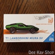 '71 Lamborghini Miura SV - Factory Fresh - Hot Wheels id (2020)