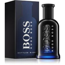 HUGO BOSS BOTTLED NIGHT 100ML AFTERSHAVE LOTION BRAND NEW & SEALED