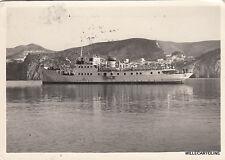 * PONZA - Partenza del piroscafo per Anzio 1952