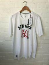 New York Yankees Nueva era camiseta de béisbol de hombre-XXL-Blanco-Nuevo