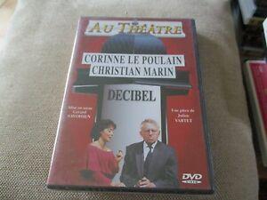 "DVD NEUF ""DECIBEL"" Corinne LE POULAIN, Christian MARIN / theatre"